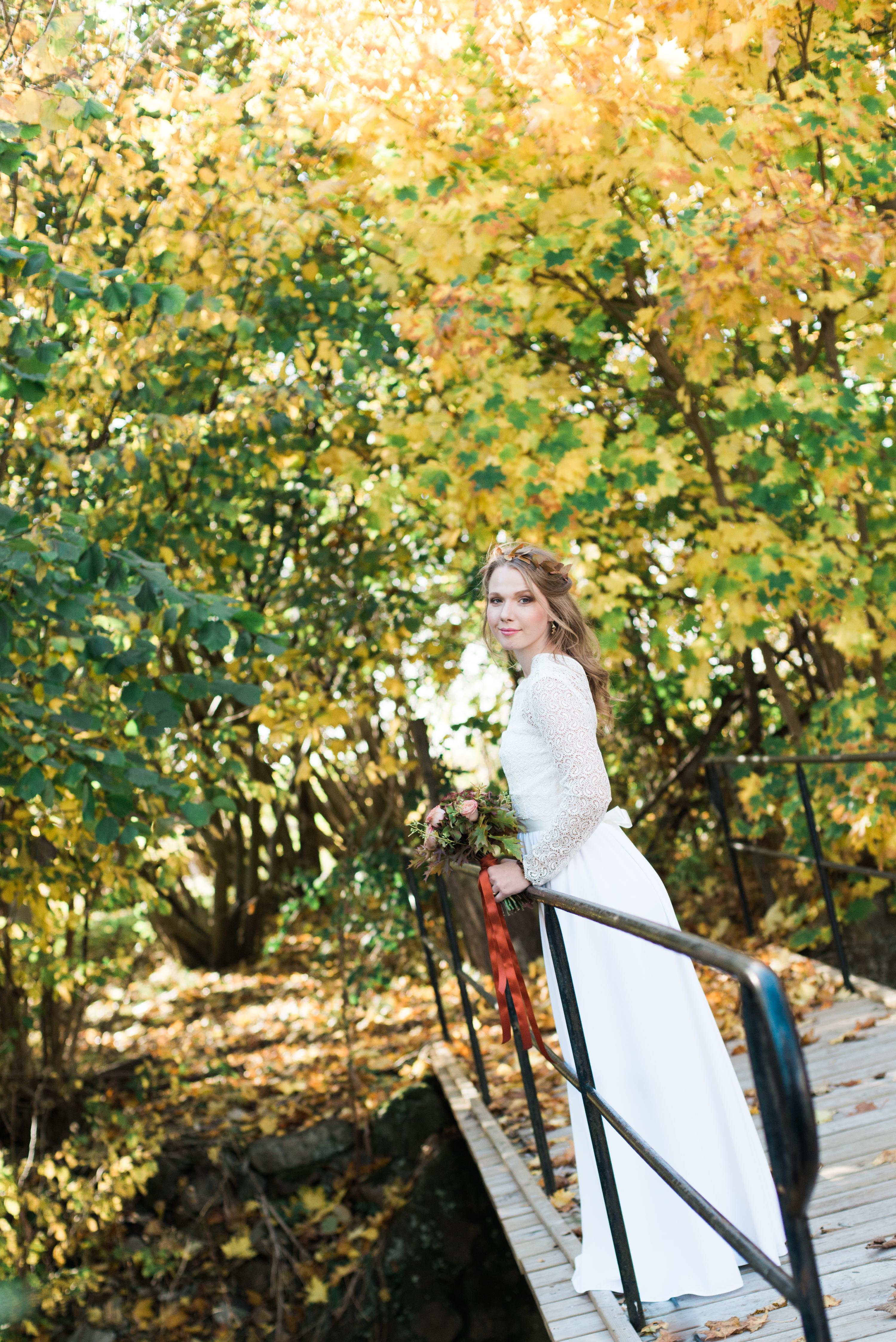 Höstbröllop på Österlen